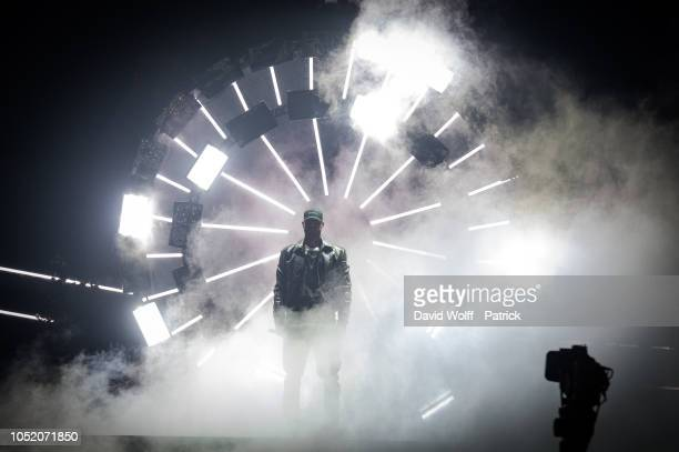 Booba performs at U Arena on October 13 2018 in Nanterre France