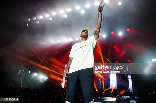Booba performs at We Love Green Festival on June 1 2019 in Paris France