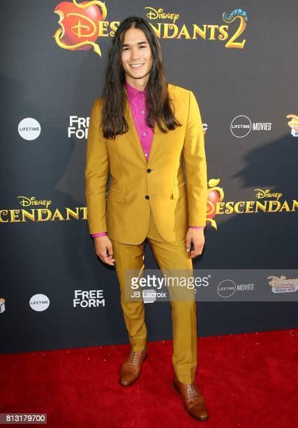 Booboo Stewart attends the premiere of Disney Channel's 'Descendants 2' on July 11 2017 in Los Angeles California