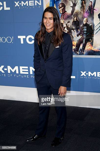 """Booboo Stewart attends the """"X-Men: Days of Future Past"""" global premiere at Jacob K. Javits Convention Center in New York City. © LAN"""