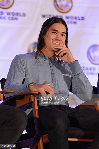 Booboo Stewart attends Wizard World Chicago Comic Con 2014 at Donald E Stephens Convention Center on August 24 2014 in Chicago Illinois