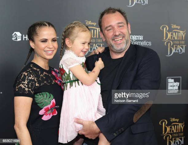 Boogie Tillmon and Trey Parker attend the 'Beauty And The Beast' New York Screening at Alice Tully Hall at Lincoln Center on March 13 2017 in New...