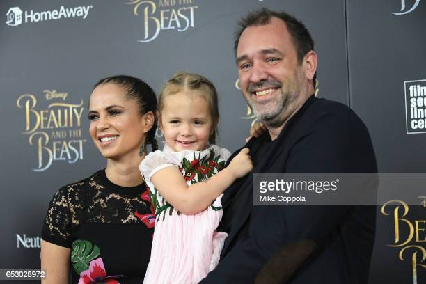 """Boogie Tillmon and Trey Parker attend the """"Beauty And The Beast"""" New York Screening at Alice Tully Hall at Lincoln Center on March 13, 2017 in New..."""