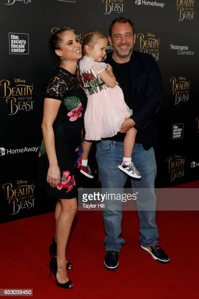 Boogie Tillmon, Betty Parker and Trey Parker attend the 'Beauty And The Beast' New York Screening at Alice Tully Hall at Lincoln Center on March 13,...
