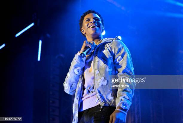 Boogie wit da Hoodie attends Rolling Loud Los Angeles 2019 Fueled by West Coast Cure on December 15 2019 in Los Angeles California