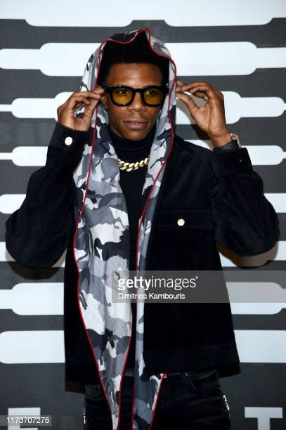 Boogie wit da Hoodie attends Savage X Fenty Show Presented By Amazon Prime Video Arrivals at Barclays Center on September 10 2019 in Brooklyn New York