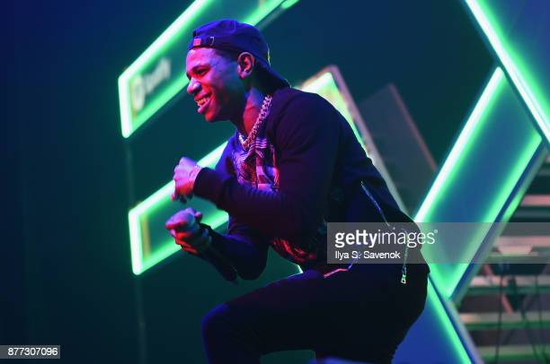 Boogie wit da Hoodie attends Spotify's RapCaviar Live in New York at Hammerstein Ballroom on November 21 2017 in New York City