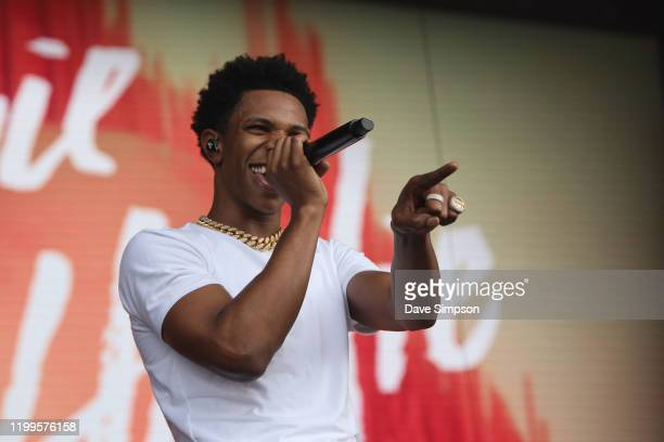 Boogie Wit Da Hoodie performs at FOMO Festival 2020 at The Trusts Arena on January 15 2020 in Auckland New Zealand