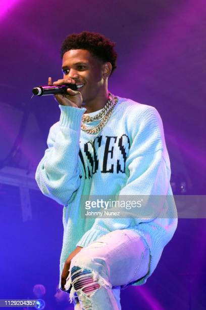 Boogie Wit Da Hoodie performs at Terminal 5 on March 7 2019 in New York City