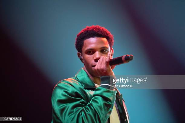 Boogie Wit Da Hoodie performs at the 2018 Complex Con at Long Beach Convention Center on November 4 2018 in Long Beach California