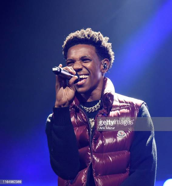 Boogie wit da Hoodie performs at the Soulfrito Music Festival at Barclays Center on August 30 2019 in New York City