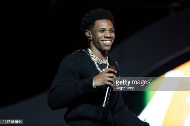 Boogie wit da Hoodie performs onstage at the 2019 BET Experience STAPLES Center Concert Sponsored By CocaCola at Staples Center on June 21 2019 in...