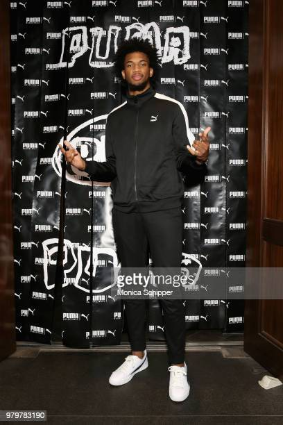 Boogie wit da Hoodie performs onstage during the PUMA Basketball launch party at 40/40 Club on June 20 2018 in New York City