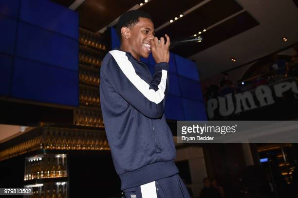 6774f83dec7241 Boogie wit da Hoodie performs onstage during the PUMA Basketball launch  party at 40 40
