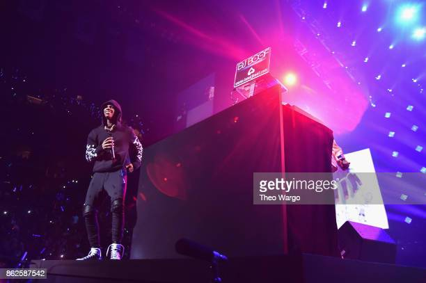 Boogie wit da Hoodie performs onstage during TIDAL X Brooklyn at Barclays Center of Brooklyn on October 17 2017 in New York City