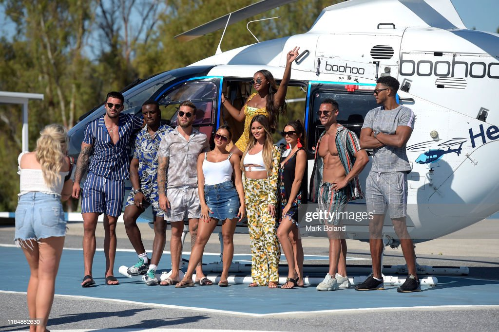 Boohoo & BoohooMAN Take Celebs For A Helicopter Ride Followed By A Yacht Trip In Marbella : News Photo
