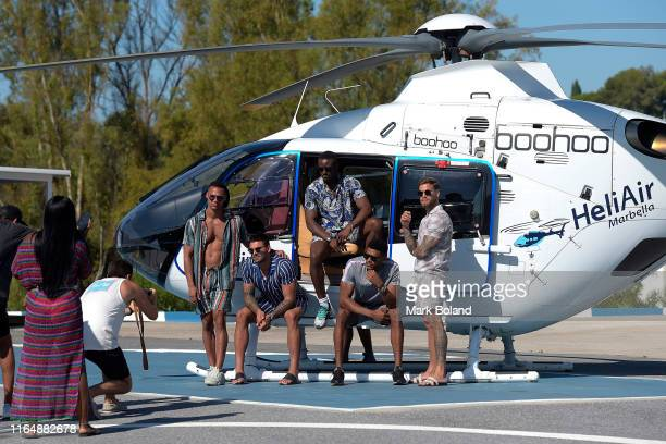 Boohoo BoohooMAN take Rykard Jenkins Adam Collard Sherif Olanrewaju Theo Campbell and Dom Lever for a Helicopter ride followed by a Yacht Trip on...