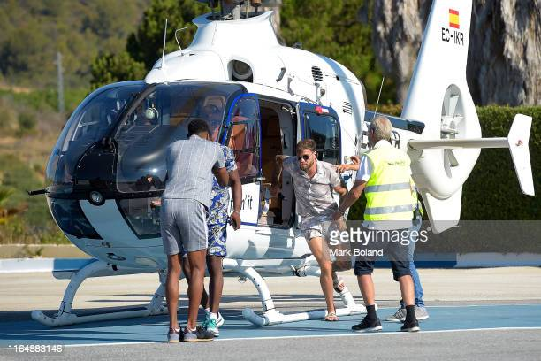 Boohoo BoohooMAN takes Dom Lever for a Helicopter ride followed by a Yacht Trip on July 29 2019 in Marbella Spain