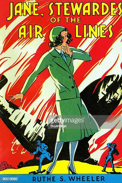 A book about women as airline pilots in a time before it was socially acceptable This book cover is from the 'every girl series' by Ruth S Wheeler