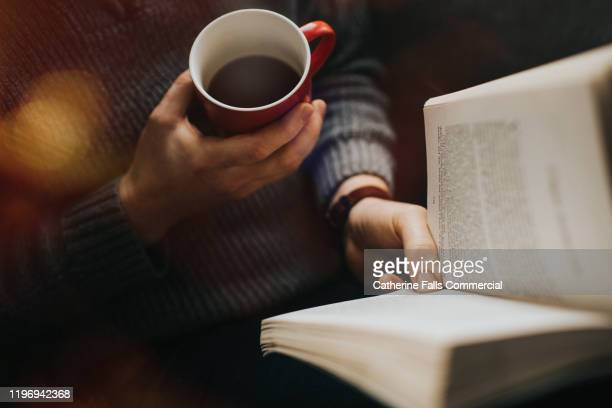 book and coffee - reading stock pictures, royalty-free photos & images