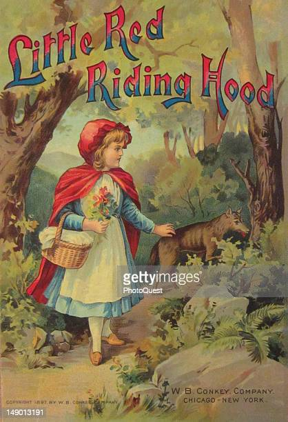 Book cover of 'Little Red Riding Hood' published by WB Conkey Company 1897