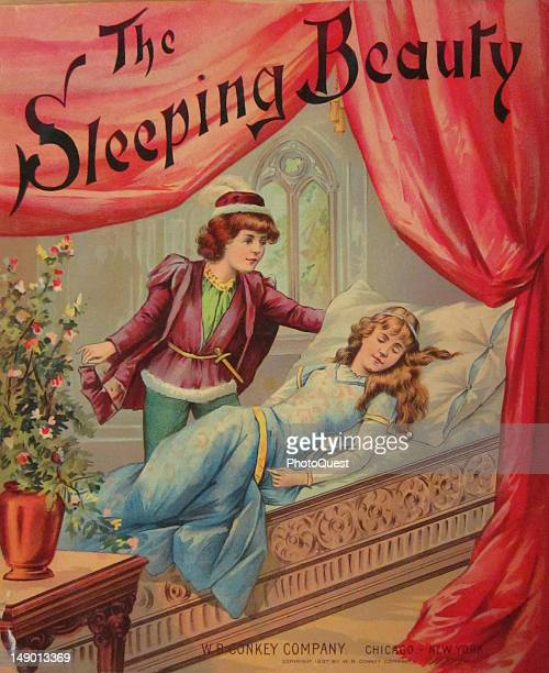 Book cover of 'The Sleeping Beauty' published by WB Conkey Company 1897