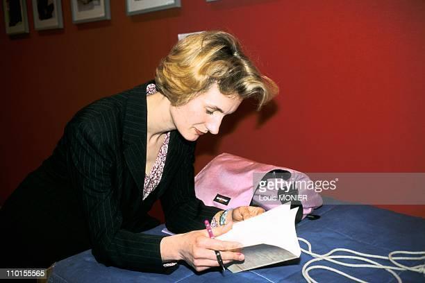 Book fair in Paris France on March 20 2000 Anna Gavalda