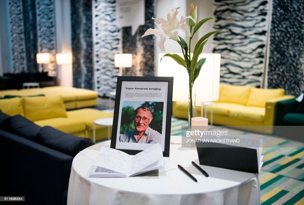 SWEDEN-KAMPRAD-IKEA-PEOPLE : Nachrichtenfoto