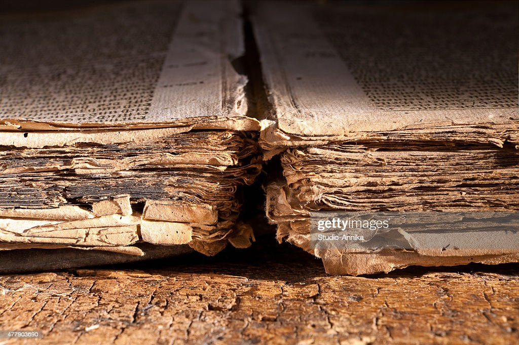 Book of dark ages : Stock Photo