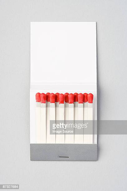 A book of matches