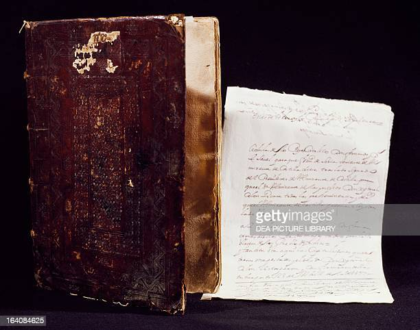 Book of the privileges granted to Christopher Columbus by the King of Spain 1502 Seville Archivo General De Indias
