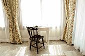 window table chair