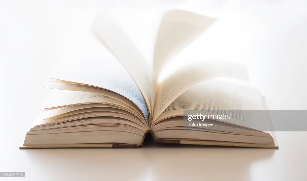 Book on table : Stock Photo