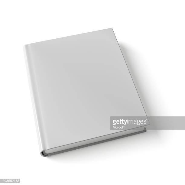 Buchen Sie auf weißem Hintergrund