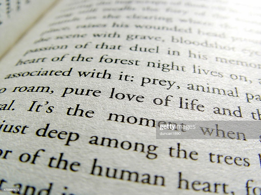 Book Page Love : Stock Photo