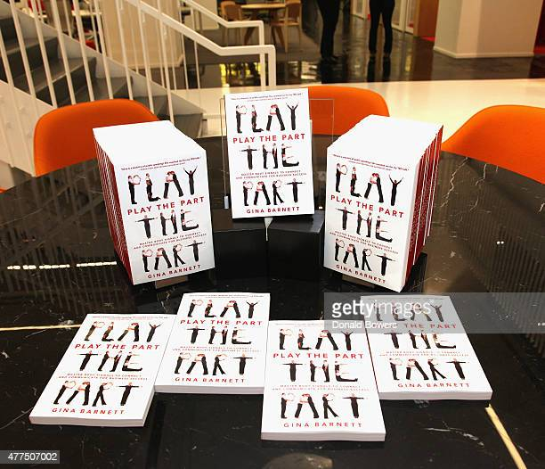 Book Release Party For Gina Barnett's Play the Part at GLG on June 17 2015 in New York City