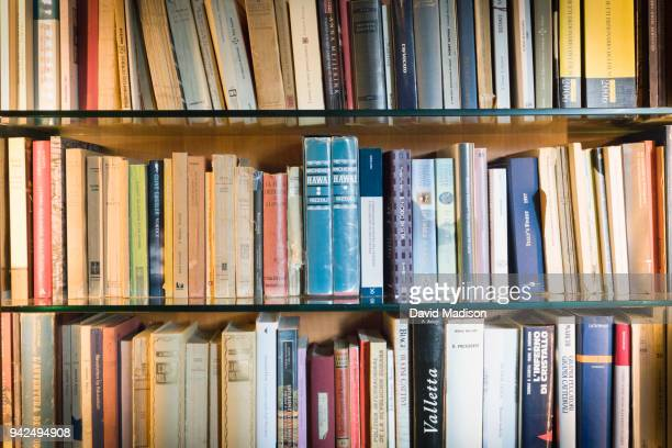 book shelves - literature stock pictures, royalty-free photos & images