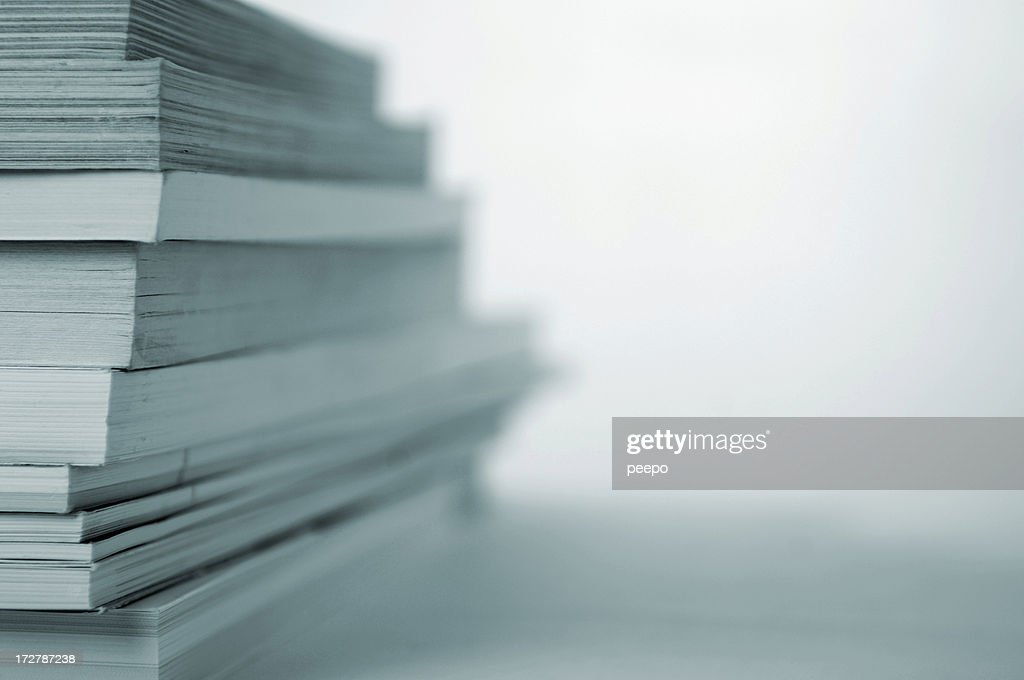 book stack series : Stock Photo