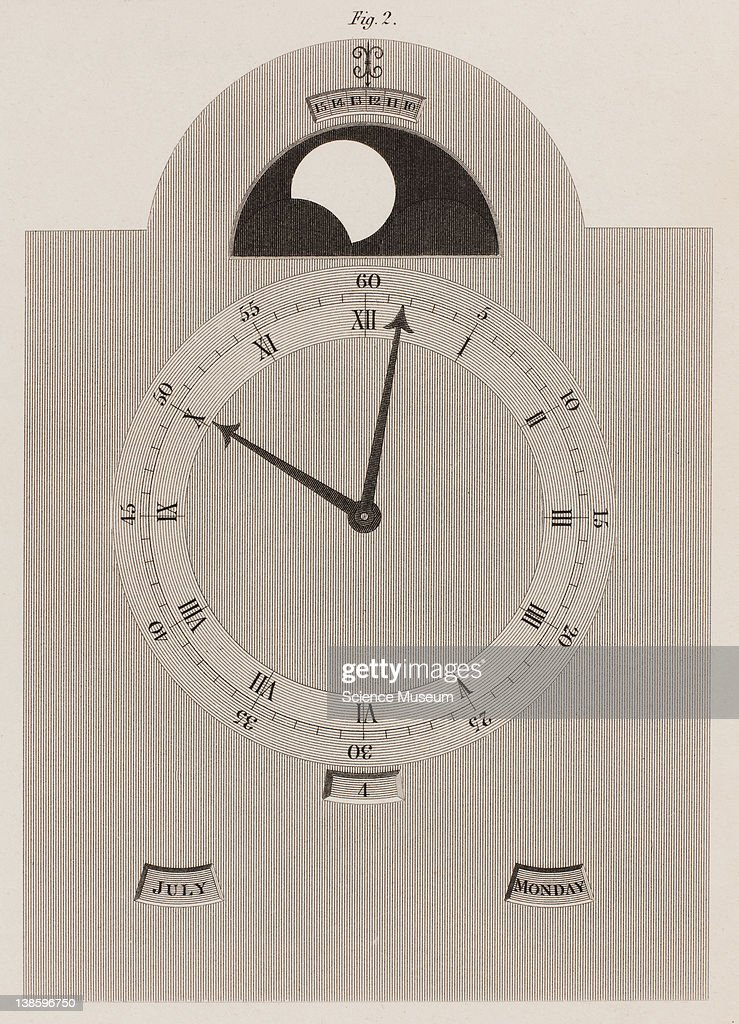 Clock Dial work: Rees' Cyclopaedia : News Photo