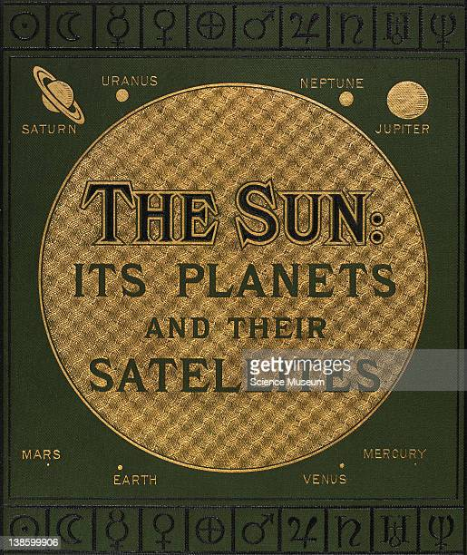 Book The Sun Its Planets and their Satellites Edmund Ledge MA A Course of Lectures upon the Solar System London Edward Stanford 1882 Book Cover Close...
