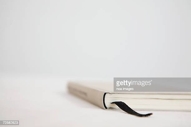 Book with bookmark, close-up