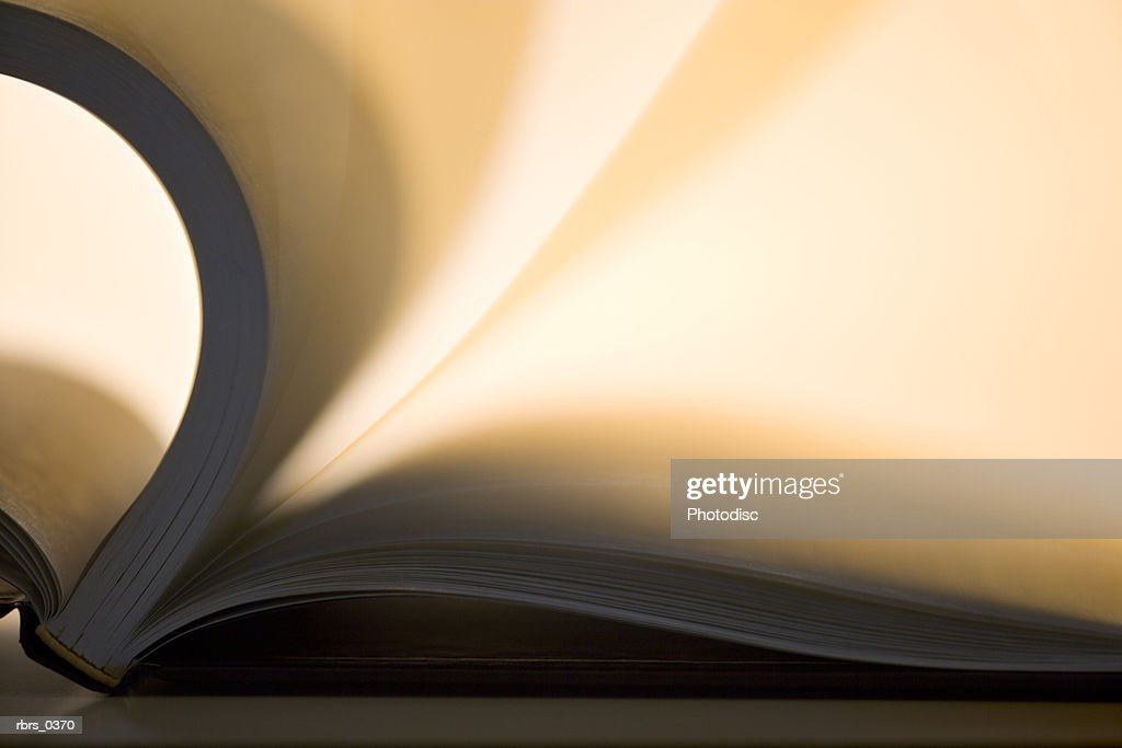 Book with flipping pages : Foto de stock