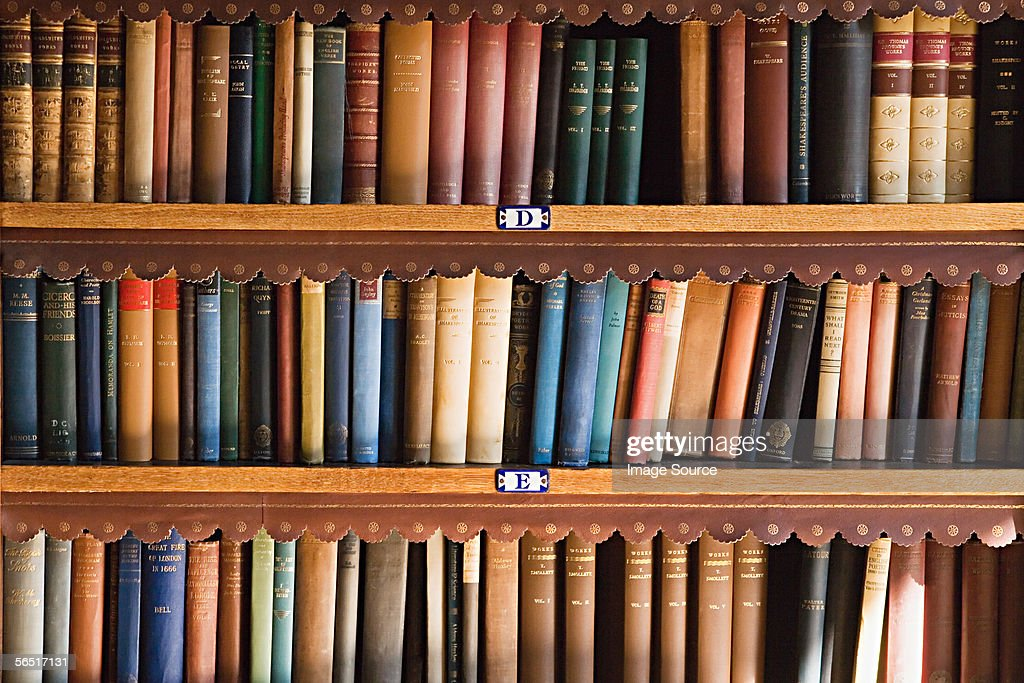 Bookcase : Stock Photo