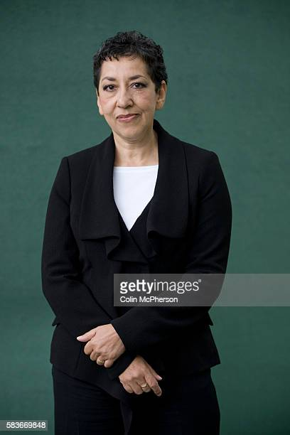 Booker prizenominated British writer Andrea Levy pictured at the Edinburgh International Book Festival where she talked about her new book entitled...