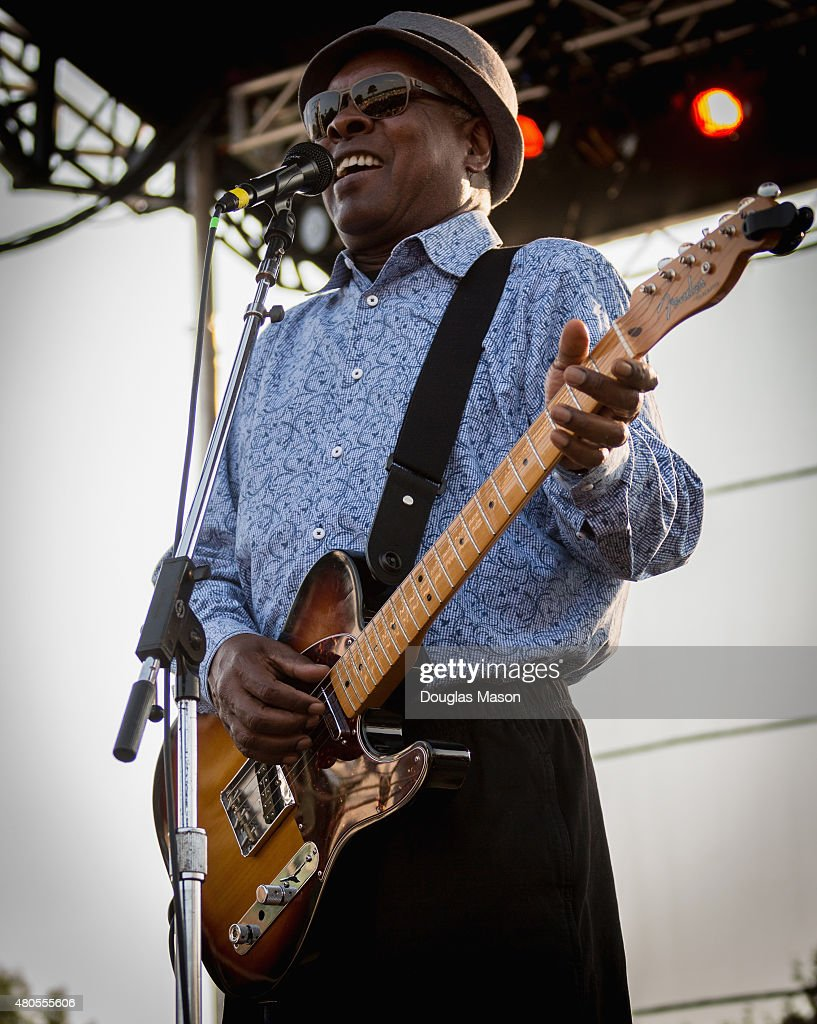 Booker T Jones, formerly of Booker T and the MG's performs during the Green River Festival 2015 at Greenfield Community College on July 11, 2015 in Greenfield, Massachusetts.