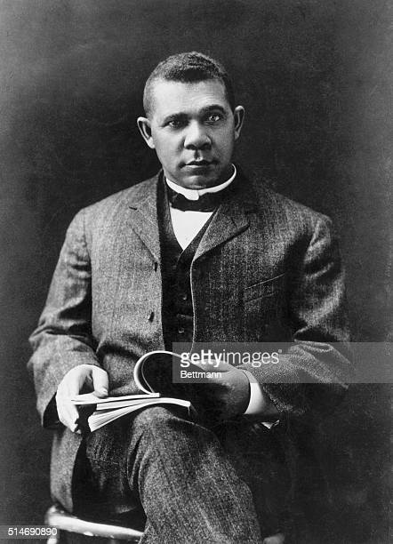 Booker T Washington American Negro educator Photograph taken in 1903 BPA2# 1291