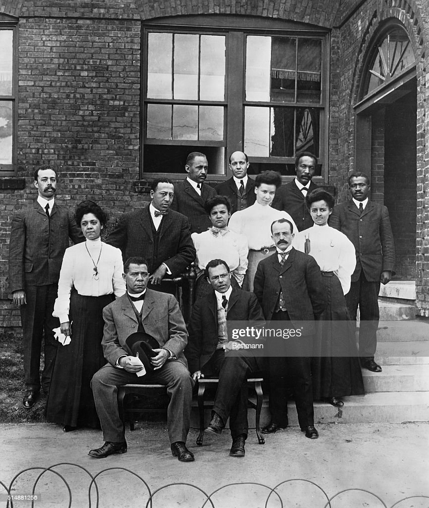 Booker T. Washington With Associates : News Photo