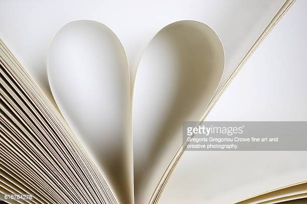 Book,Heart Shape