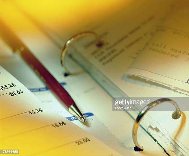 Bookkeeping accounts