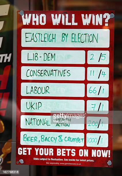 eastleigh by election betting